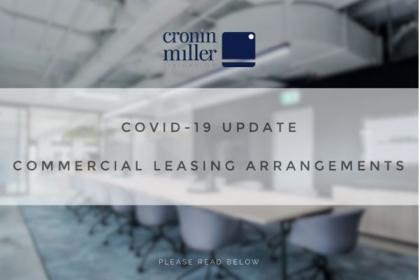 COVID 19 Commercial Leasing