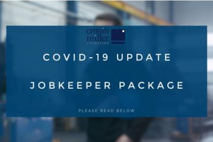 COVID 19 Update JobKeeper